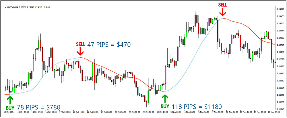 AllPips Indicator - Free Trend Following Indicator